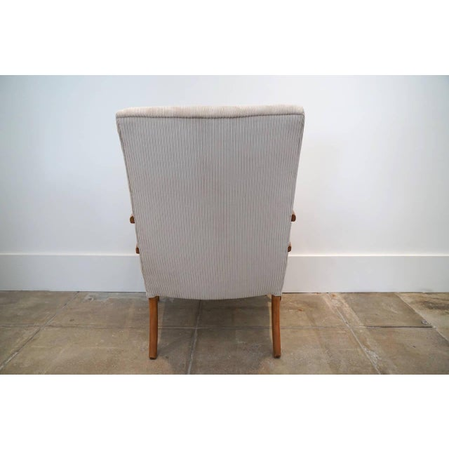 Image of American Sabre Leg Armchair