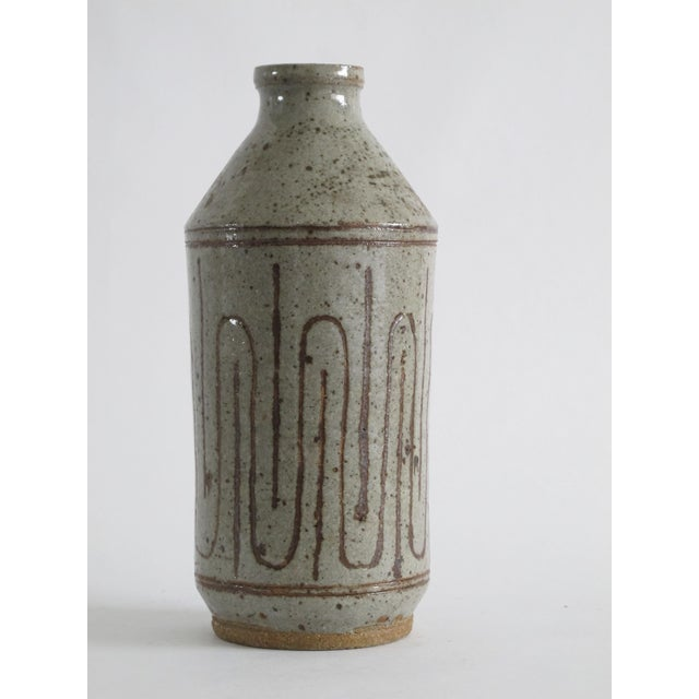 Mid-century Danish Ceramic Bottle - Image 4 of 5