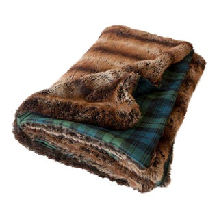 Grendall Faux Fur Throw