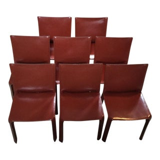 Mario Bellini Cassina Chairs - Set of 8
