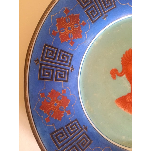 Vintage Hand Painted Grecian Decorative Wall Plate - Image 6 of 9