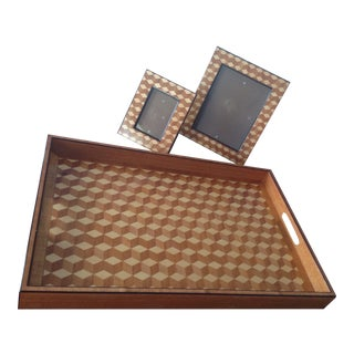 Williams Sonoma Home, Tray & Photo Frames - 3