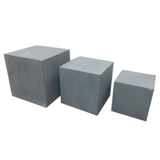 Slate Square Box - Set of 3