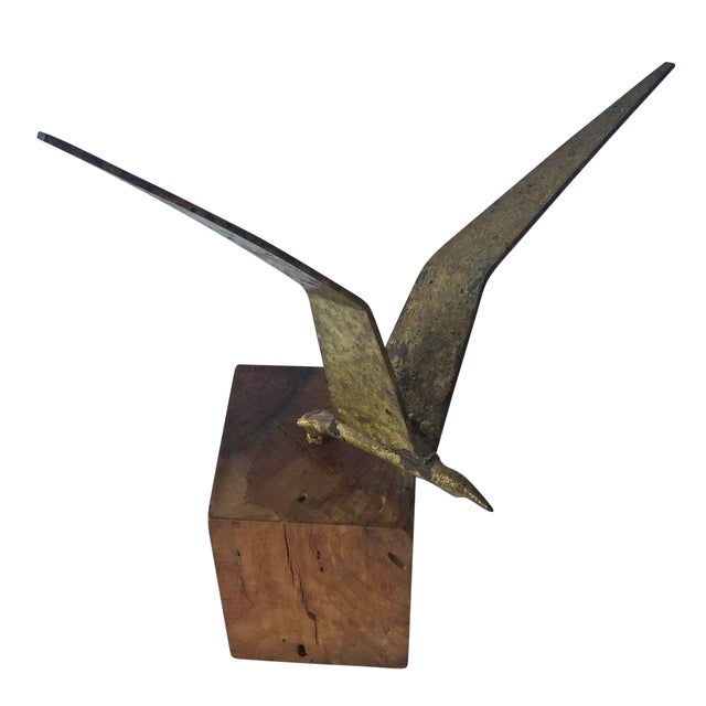 Image of Curtis Jere Brass Seagull
