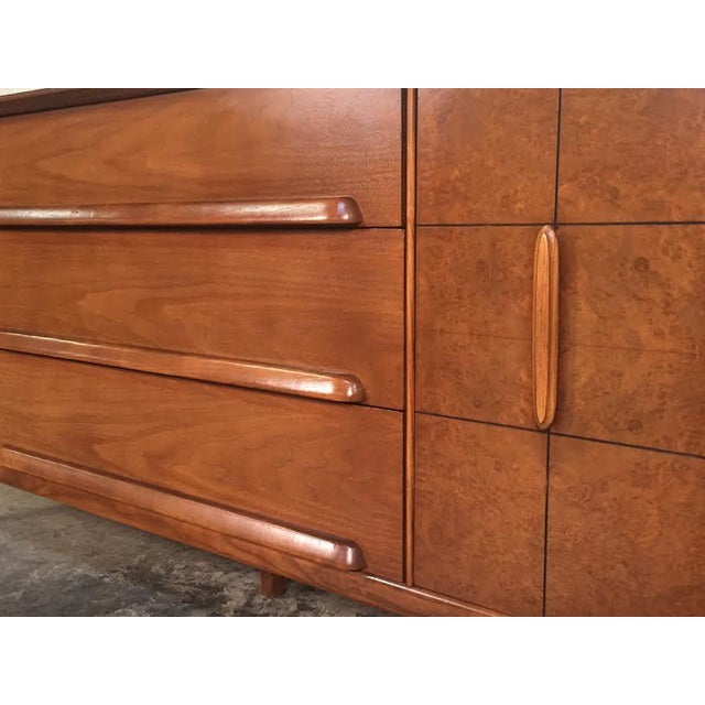 Stanley Mid-Century Modern Credenza - Image 7 of 11