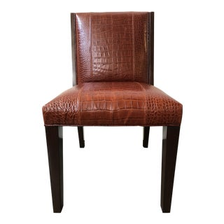 Ralph Lauren Home Modern Metropolis Leather Side Chair
