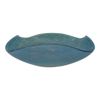 Blue Murano Glass Bowl