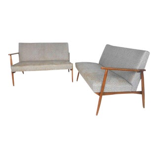 Vintage Modern Sectional Settee Sofa