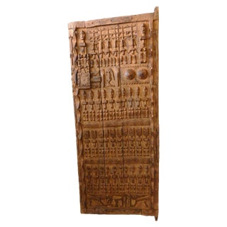 LG Dogon Door With Figures Mali African