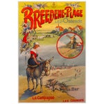 Image of Breeden Original Belgian Travel Poster c.1912