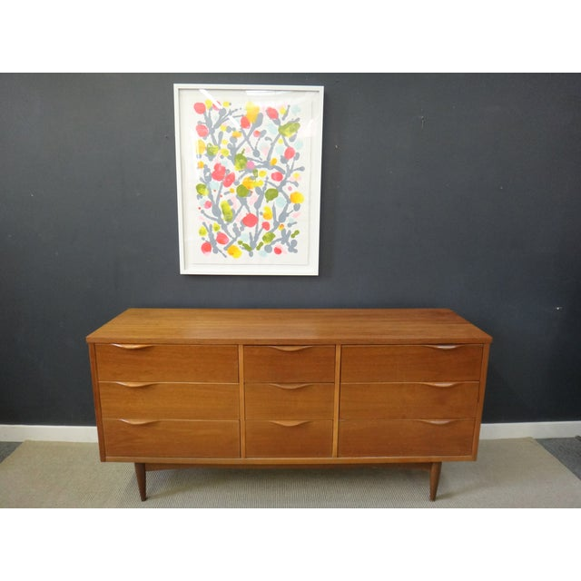 mid century harmony house lowboy bureau chairish. Black Bedroom Furniture Sets. Home Design Ideas