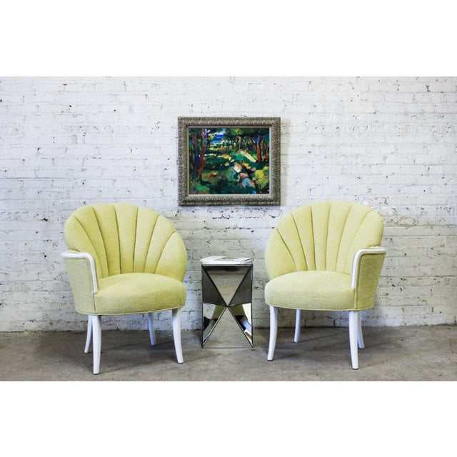 Pair of Heywood-Wakefield One Arm Chairs - Image 2 of 4