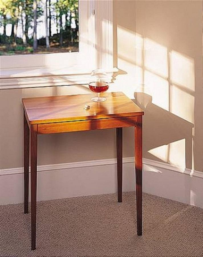 Thos Moser Rectangular Table, Minimus In Cherry   Image 3 Of 3