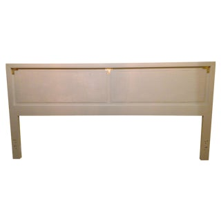 Wellington Hall Campaign Style King Headboard