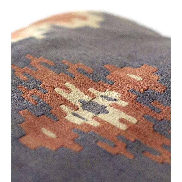 Vintage Kilim Pillow Covers - A Pair - Image 3 of 4