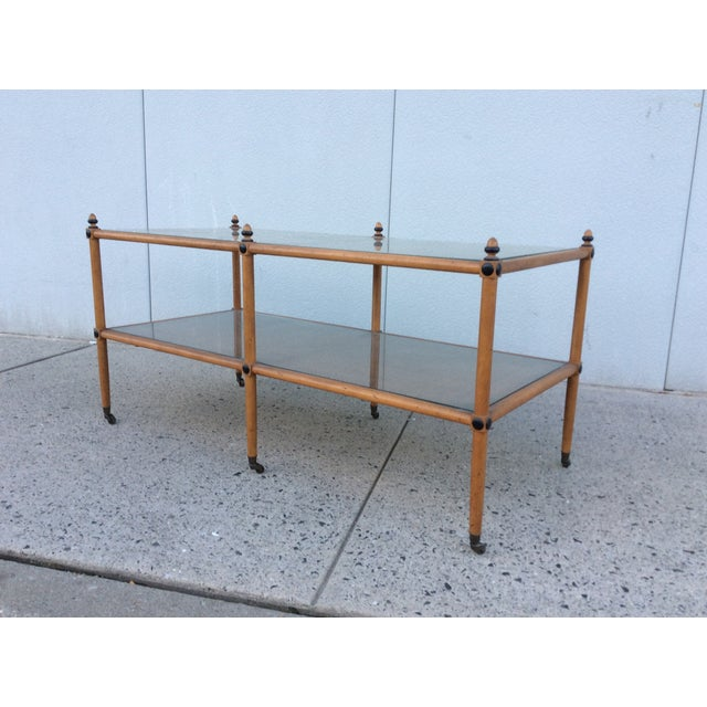 1960's Hollywood Regency Two Tiered Console - Image 5 of 11