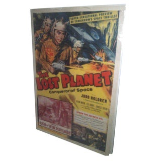 Sci-Fi Movie Poster - The Lost Planet 1953