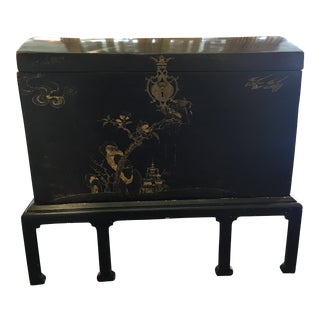 18th Century Lacquered Trunk