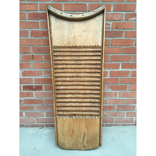 Rustic European Washboard - Image 2 of 9