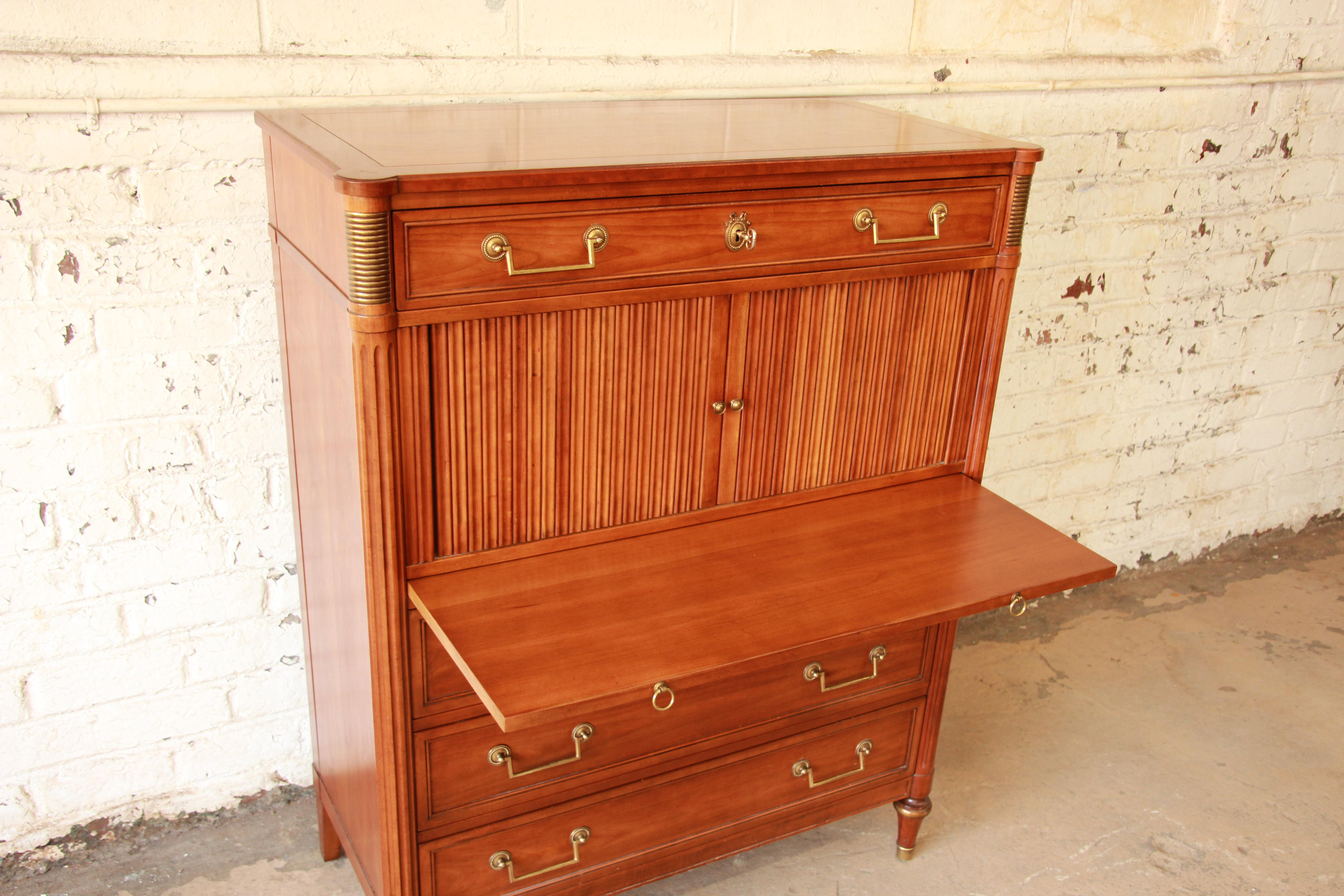 Beautiful Kindel Furniture French Regency Style Gentlemanu0027s Chest   Image 5 Of 11