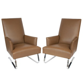 Donghia Odeon Lounge Chairs- A Pair