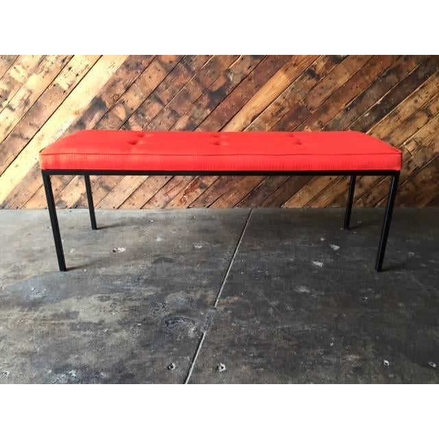 Custom Powder Coated Steel Bench - Image 4 of 7