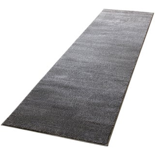 Gray Striped Rug