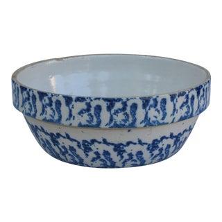 Spongeware Blue & White Baking Dish