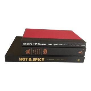 Assorted Savory Quisine Cookbooks - S/3