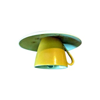 Star Glow 'Atomic' Tea Cup & Saucer Pendant Light