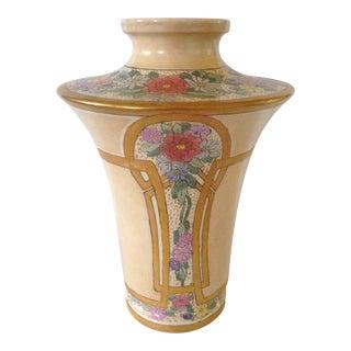 Art Nouveau Floral Vase