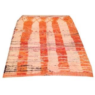 "Vintage Coyle Moroccan Striped Rug - 4'3"" x 5'6"""