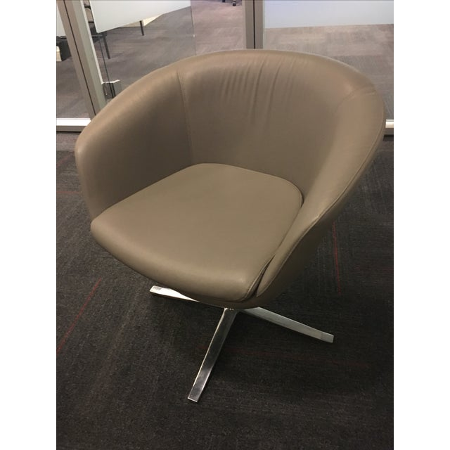 Coalesse Bob Lounge Swivel Chair - 8 Available | Chairish