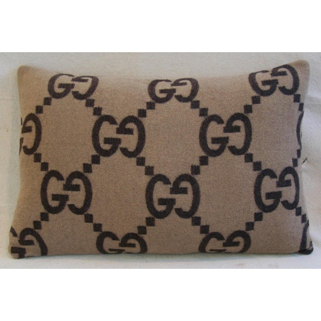 Gucci Cashmere & Velvet Pillows - A Pair - Image 10 of 10