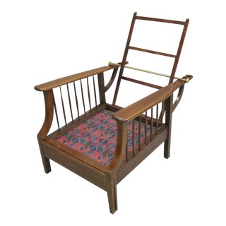 Arts and Crafts Armchair in the Style of 'William Morris