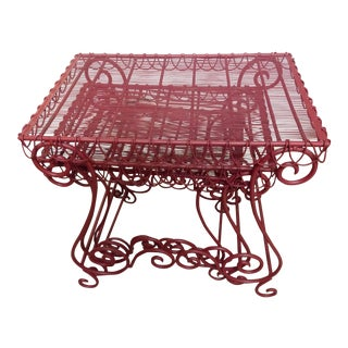 Scroll Style Nesting Tables - Set of 3