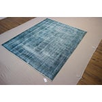 Image of Vintage Turkish Overdyed Rug - 5′10″ × 8′10″