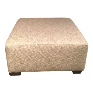 The MT Company Gable Square Ottoman