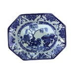 Image of Blue & White Chinese Willow Platter