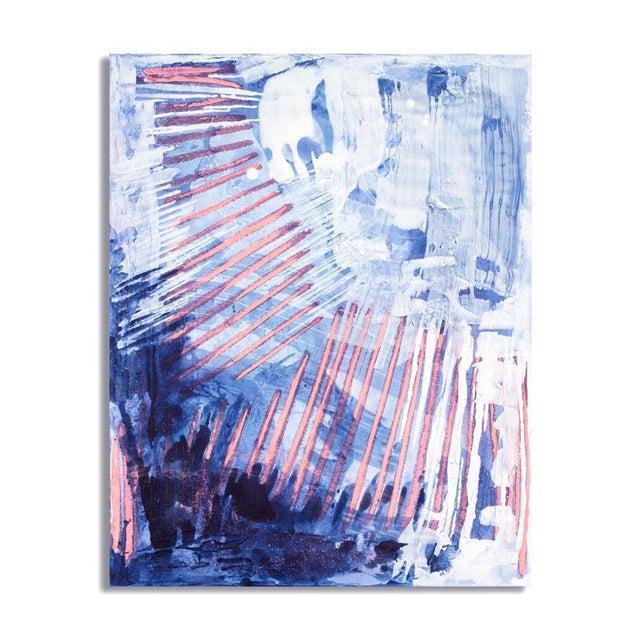 """""""Bioluminescent I"""" Acrylic Painting - Image 2 of 2"""