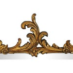 Image of Antique French Gilt & Gesso Mirror