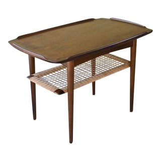 Vintage Poul Jensen for Selig Mid-Century Danish Modern End Table