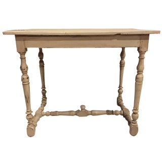 Refinished Antique French Country Directoire Table