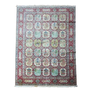 Vintage Hand Knotted Persian Rug - 11' x 17'