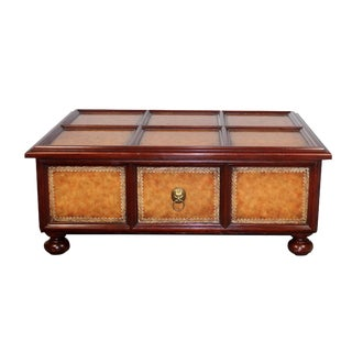 Maitland-Smith Mahogany Coffee Table