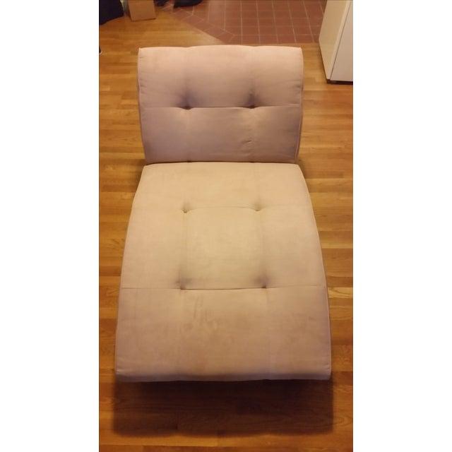 EQ3 Crush Velvet Chaise Lounge - Image 2 of 5