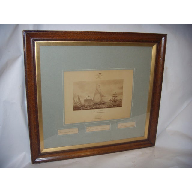 Framed Photo of The Terrible Fiona Yacht, 1899 - Image 2 of 11