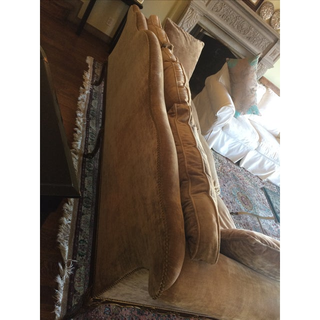 French Louis XV Style Finely Carved Walnut Sofa or Canape - Image 6 of 6