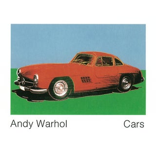 300 Sl Coupe (1954) Pop Art Poster by Andy Warhol