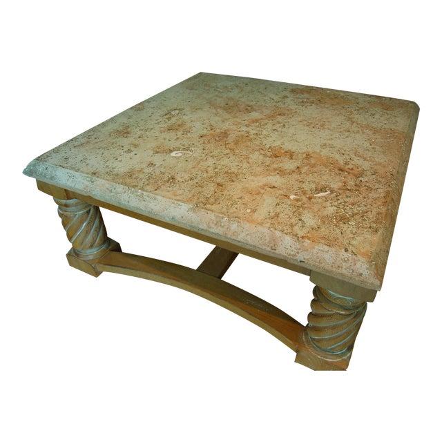 Drexel Concrete Coffee Table Chairish